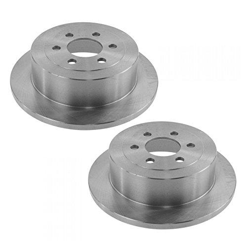Brake Rotor Rear Driver & Passenger Side Pair Set of 2 for Dodge Dakota