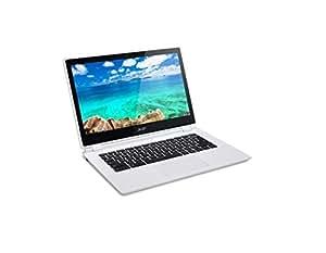 """Acer Chromebook CB3-111 - Portátil de 11.6"""" HD (Intel Celeron 2940 Quad Core, 2 GB de RAM, Disco SSD 32 GB, WiFi AC, Google Chrome OS), blanco -Teclado QWERTY Español"""