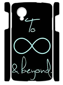 Nice I Love You To Infinity And Beyond Covers Cases Accessories for Google Nexus 5