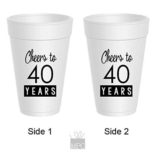 40th-birthday-styrofoam-cups-cheers-to-40-years