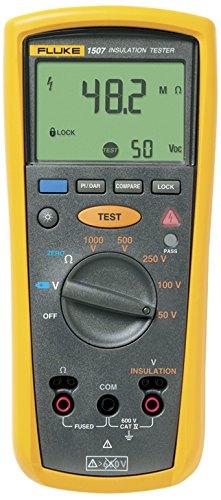 Fluke 1507 Insulation Tester, 0.01 MegOhms To 10 GigOhms
