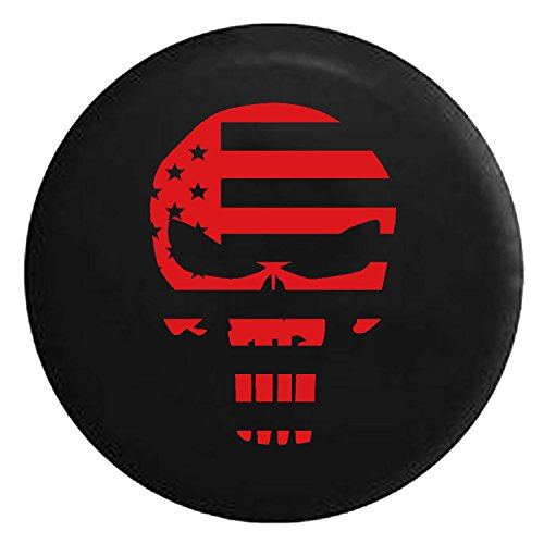 compare price  jeep skull spare tire cover