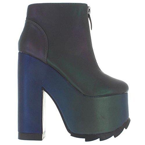 2170176b059d Y.R.U. YRU Nightmare Shoe in Reflective (9
