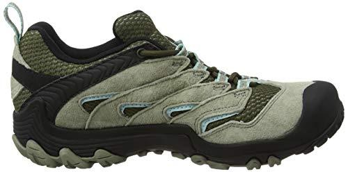 Merrell da donna Olive Scarpe trekking Olive polverose Limit Waterproof verdi 7 Cham Dusty da RqzwrRfU