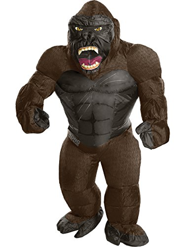 Skull Kid Costumes (Rubie's Costume Kong: Skull Island Child's Inflatable King Kong Costume, Multicolor, One Size)