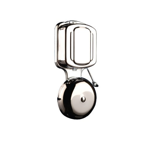 Byron 7721 Wired Wall Mounted Chrome Door Chime Striker Bell by Byron