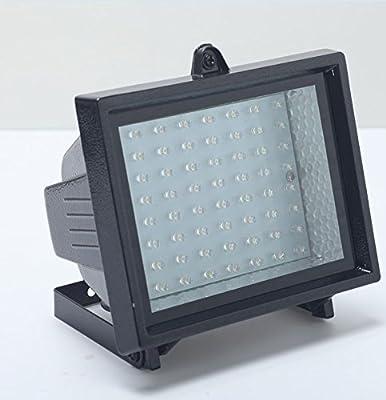 Bizlander® Ultra Bright Solar Powered 60 LED Security Garden Flood Light for Barn Shed, House Number Sign, Business Sign, Patio Car Port many More