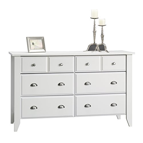 41 grRSdH6L - Sauder Shoal Creek  Dresser, Soft White Finish