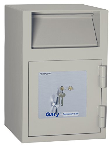 Front Loading Deposit Safe (Gary Front Loading Deposit Safe with Key Lock, 14 x 21 x 14 Inches, Taupe (FIRFB2114RK))