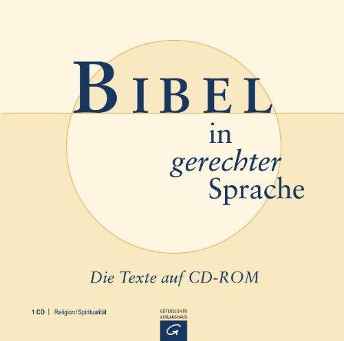 Bibel in gerechter Sprache: Die Texte auf CD-ROM