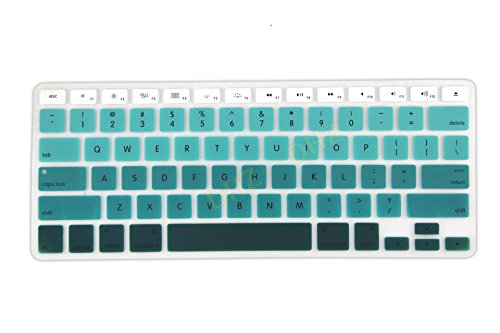 "DHZ® Keyboard Cover Silicone Skin for MacBook Pro 13"" 15"" 1"