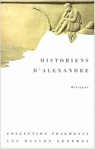 Livres gratuits en ligne Historiens d'Alexandre pdf, epub ebook