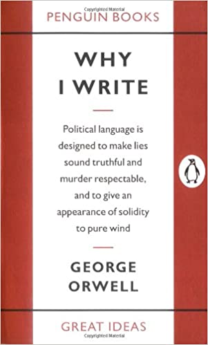 Image result for Why I write orwell penguin
