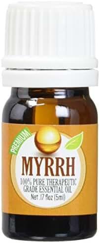 Myrrh 100% Pure, Best Therapeutic Grade Essential Oil - 5 ml