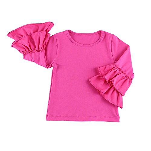 long sleeve hot pink dresses - 6