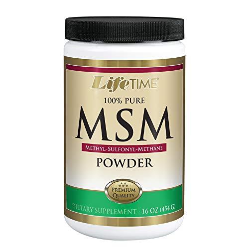 Lifetime 100% Pure MSM (Methylsulfonylmethane) Powder 16 oz