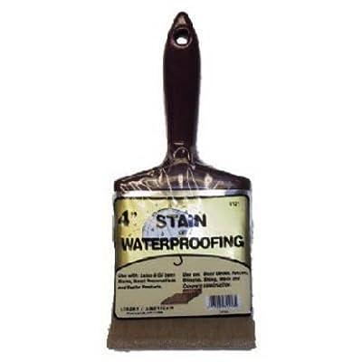 """Linzer 3121 0400 Stain Waterproofing Brush, 4"""""""