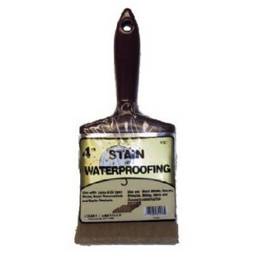 Linzer 3121 0400 Stain Waterproofing Brush, 4