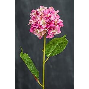 Pink Silk Hydrangea Spray - Excellent Home Decor - Indoor & Outdoor 101