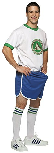 UHC Men's Happy Camper Funny Camp Morning Wood Adult Humorous Costume, (Happy Campers Costume)