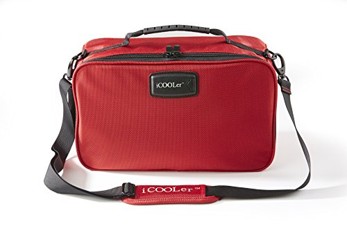 Pack Beverage Tote (iCOOLer Freezable Lunch and Beverage Bag (Large,)