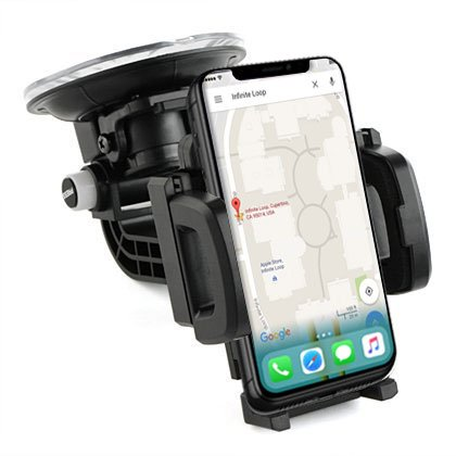 DAXXIS HEAVY-DUTY Suction Cup/Air Vent Car Mount Phone Holde