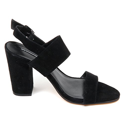 Nero D5270 Shoe smith Black Woman Sandalo Box Without Donna Windsor av1R4nq