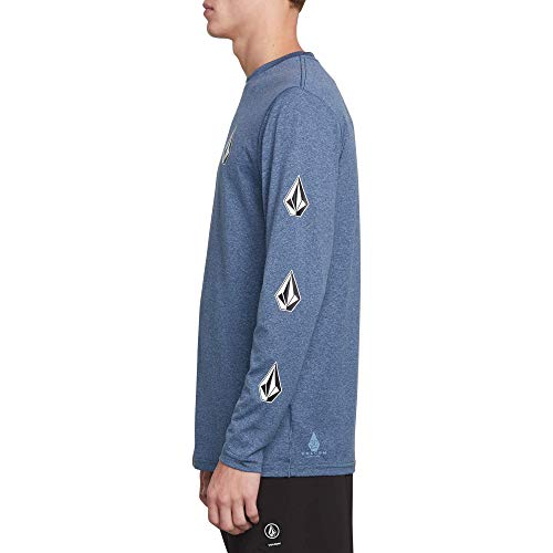 Volcom Men's Deadly Stones Long Sleeve Surf Shirt Rashguard