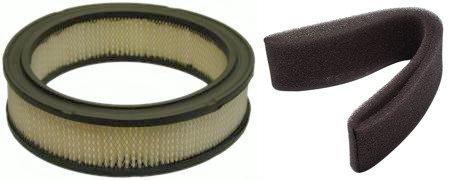 142 Air Filter - N2 C-261-4207 Air & Pre-Filter for Cub Cadet 2166, 2135, 2130, 2155; John Deere 142, 152 & 162 Vacuum Sweeper PC2277 - with Kohler Engine