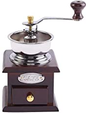 Coffee Grinder Manual Coffee Grinder Cafe with Ceramic Millstone Retro Coffee Spice Grinder Grinding Tool Home Decoration