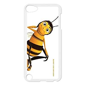 Bee Movie_002 High Quality Specially Designed Skin cover Case For ipod 5 White