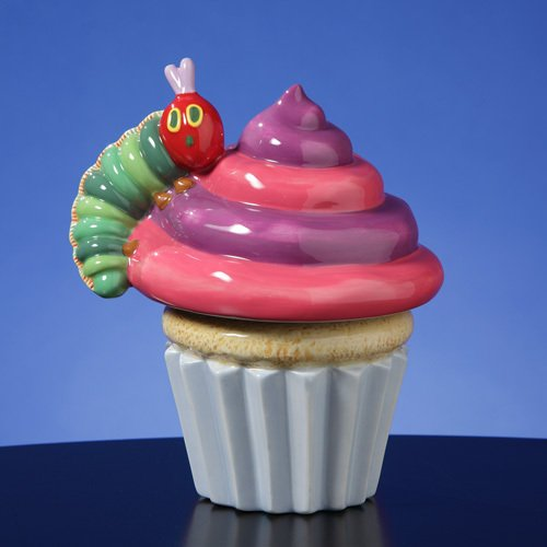 The Very Hungry Caterpillar Cupcake Musical Figurine by The San Francisco Music Box Company