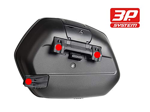 SHAD D0B36Y0MT95IF-IN Yamaha FJ09 15-18 SH36 Sidae Cases, 3P Side Mount and Inner Bags by SHAD (Image #10)