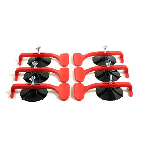 Giant Suction Cup Clamps for Convertible Glass Windshield Repair (Box of 6)