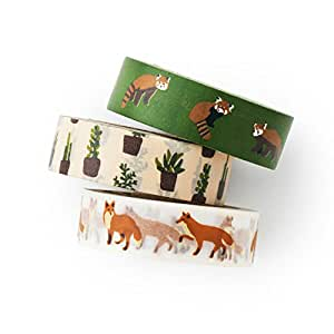 Lesser Panda washi tape