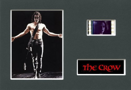 THE CROW - Mounted 35mm Movie Film Cell