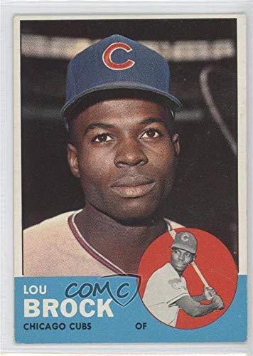 Lou Brock Baseball Card (Lou Brock (Baseball Card) 1963 Topps - [Base] #472)