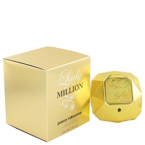 Lady million by paco rabanne womens eau de parfum spray 27 oz 100 authentic