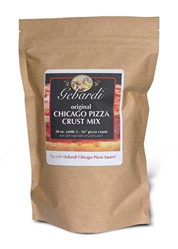 - Gebardi Original Chicago Pizza Crust Mix, 20 oz.