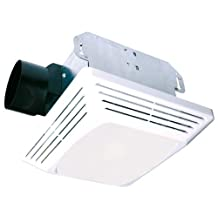 Air King ASLC70 Advantage Exhaust Bath Fan with 70-CFM and 4.0-Sones for 100-Watt Incandescent Bulbs, White Finish