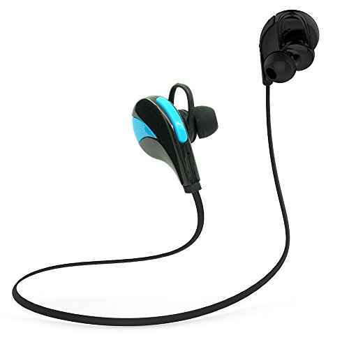 Gifts for him,her,Bluetooth headphones 4.0,wireless headsets microphone sweat proof design for sports gym exercise running cycling,lightweight Earbuds earphone car hands free calling stereo sound