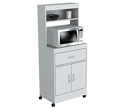 Nexera 2 Door Mobile Microwave Cart: Compare Price: Contemporary Microwave Cart