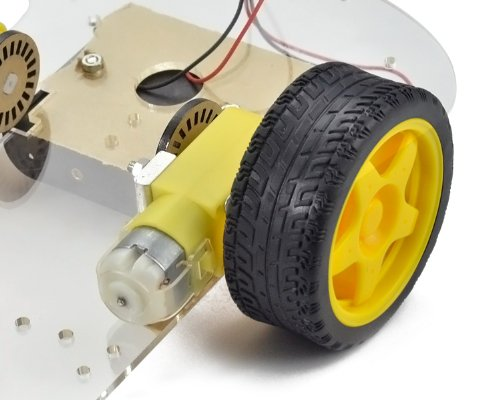 Emgreat motor robot car chassis kit with speed encoder for Robot motors and wheels