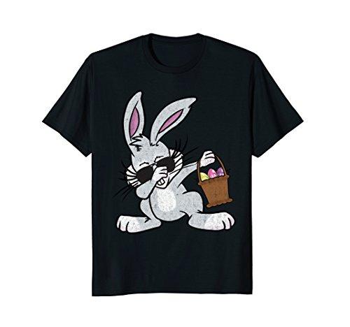 - Dabbing Easter Bunny Shirt - Cute Easter Dab Shirt