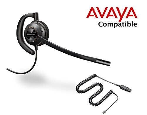 Avaya Compatible Plantronics EncorePro 530 HW530 Noise Canceling Headsets for Avaya 14xx. 24xx. 46xx, 54xx 56xx, 64xx, 64xx, 95xx series