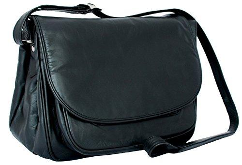 Black Style Leather 2195 Handbag Visconti Black wq4Az0x