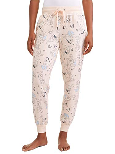 Disney Women's Snow White and The Seven Dwarfs Pajama Ankle Lounge Pants (X-Large (16-18))