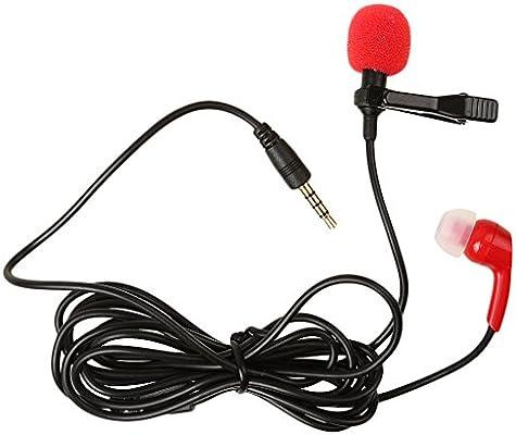 sharprepublic Micrófono Lavalier De Solapa con Cable Y Clip De ...