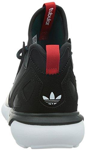 adidas Tubular Runner Weave - Zapatillas para hombre Negro / Rojo / Blanco