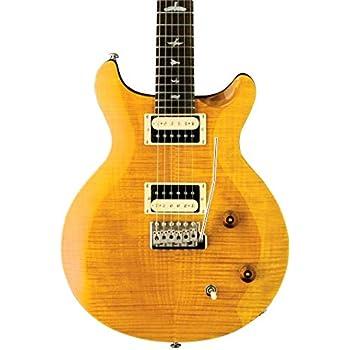 prs paul reed smith se santana electric guitar with gig bag santana yellow musical. Black Bedroom Furniture Sets. Home Design Ideas